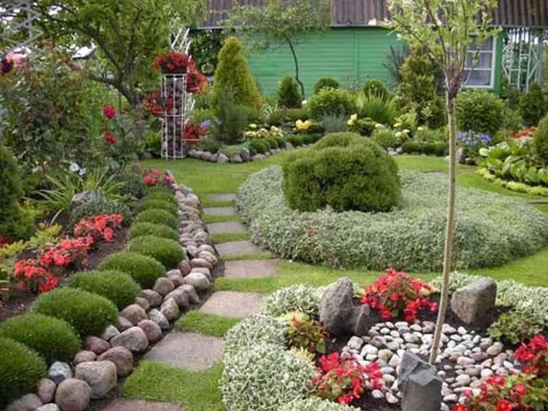 Садовой дизайн своими руками