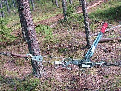 Выкорчевать деревья на участке своими руками 96
