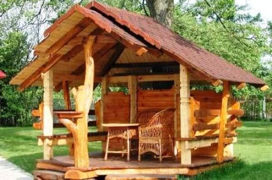 Захист дерев'яних конструкцій в ландшафтному дизайні