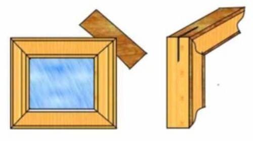 Как своими руками сделать рамку для картины из дерева