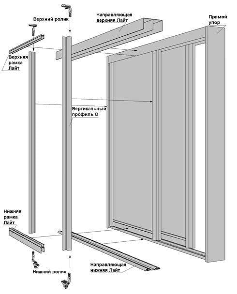 Починить дверь шкафа купе своими руками 16
