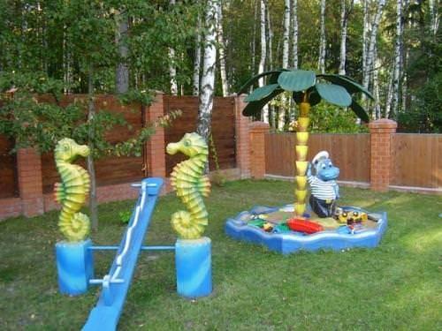 Детские площадки своими руками для детского сада