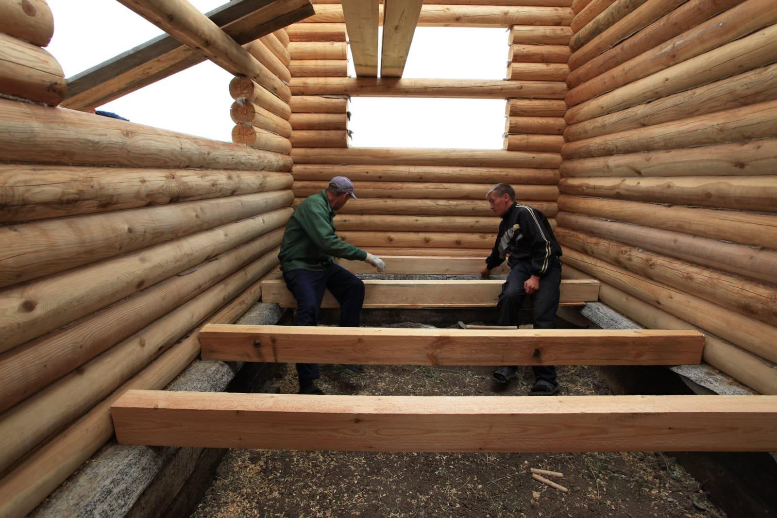 Работы в деревянном доме своими руками 980
