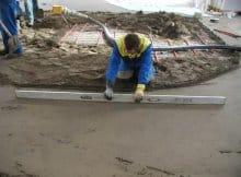 Стяжка підлоги: короткий лікнеп по пристрою різних типів стяжок своїми руками