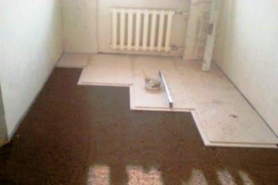 Пристрій підлоги з гвл: вчимося працювати з гипсоволокном на прикладі сухої стяжки