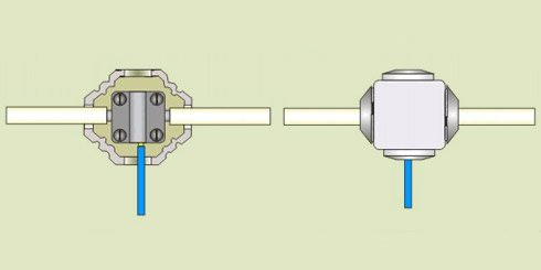 Способи з'єднання електричних проводів і кабелів