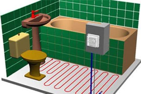 Как сделать тепло в ванной комнате