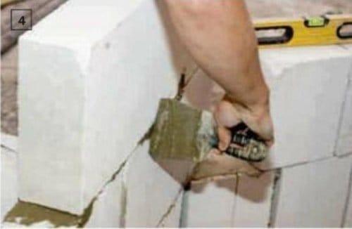 Перегородка из пеноблоков своими руками пошаговая инструкция 53