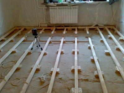 Вирівнювання підлоги: як заміряти кривизну і усунути її своїми руками