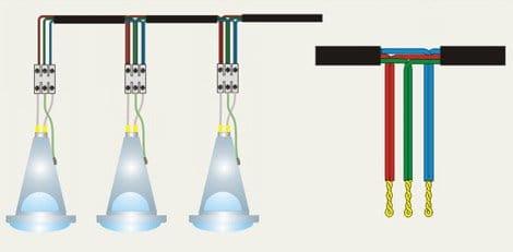 Як встановити і підключити точкові світильники правильно