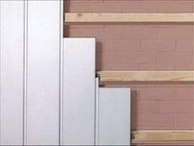 Обробка пластиковими панелями стін кухні, ванної кімнати, туалету, фото