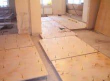 Як проводиться вирівнювання підлоги фанерою: розбір пристрою 3-х різних варіантів