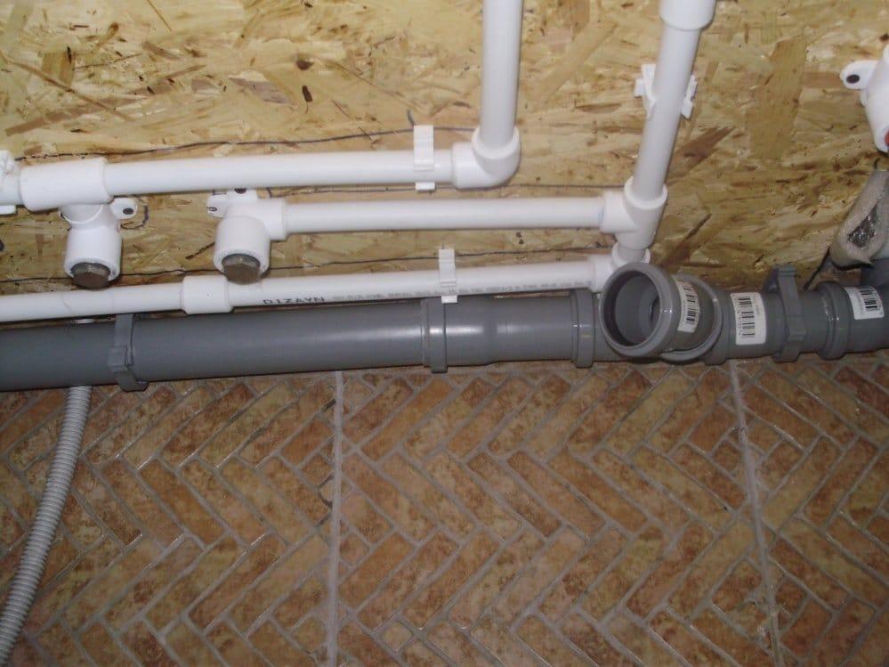 Пластиковые водопроводные трубы монтаж своими руками