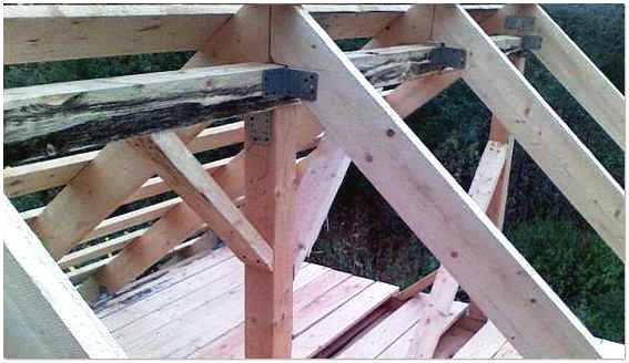 Строим крышу бани своими руками и своими силами