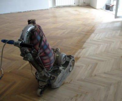 Шліфування дерев'яної підлоги: покрокове керівництво для проведення робіт