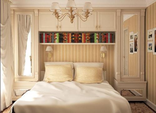 дизайн спальни в хрущевки фото