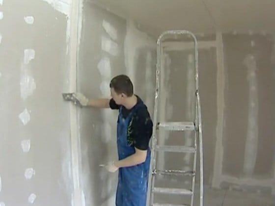 Как шпаклевать стены своими руками по гипсокартону своими руками 42