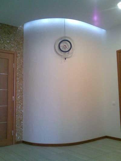стена полукруг фото