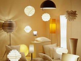 Освітлення в інтер'єрі, підбір ламп для кімнат