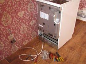 Схема підключення електричної плити