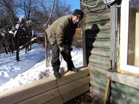 Как сделать пристройку из бруса к деревянному дому своими руками 59