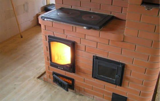 Как сделать кирпичную плиту для дома
