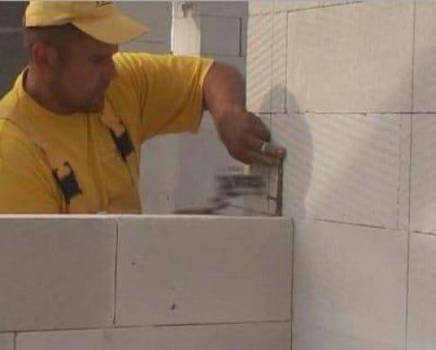 Туалет из газосиликатных блоков своими руками