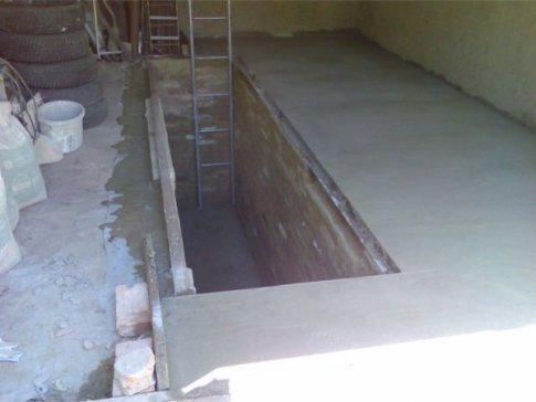 Заливка пола в гараже бетоном своими руками пропорции 36