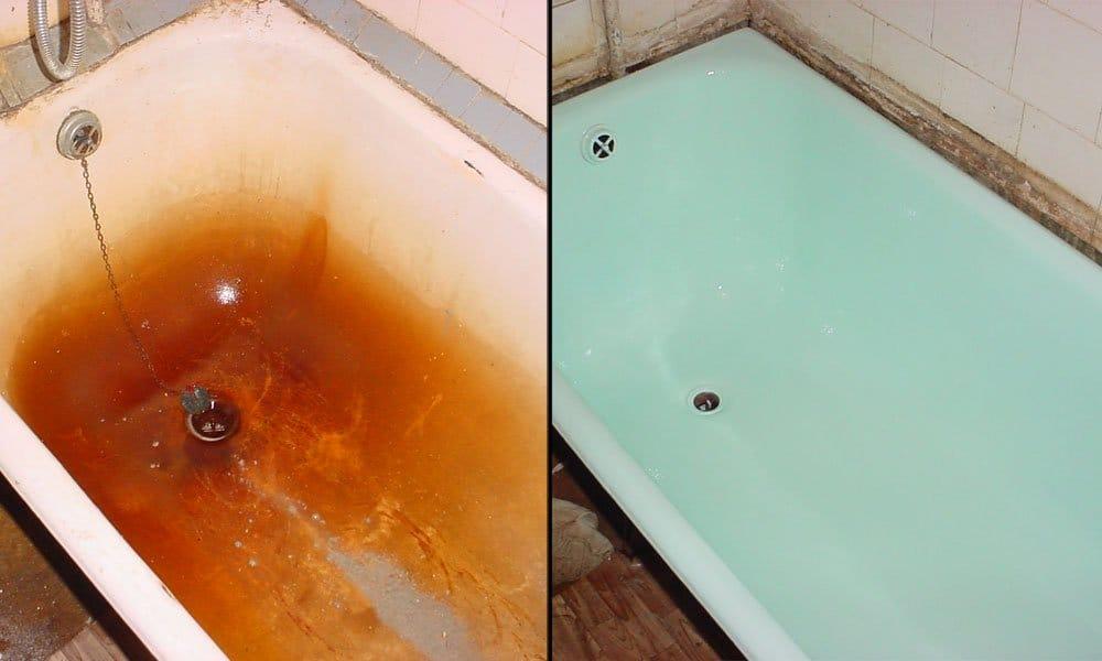 Ремонт акриловой ванны своими руками 80