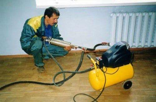 Гідропневматична промивка системи опалення