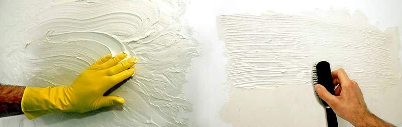 Краска фактурная изготовить своими руками