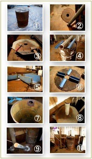 Как сделать котел из бумаги