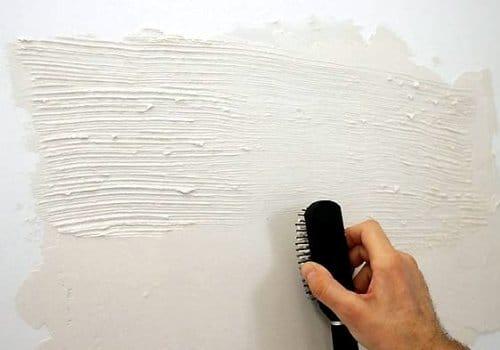 Как декорировать стены штукатуркой 180