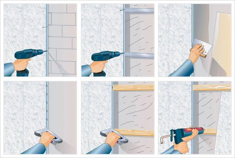 Отделка стен панелями пвх своими руками 3