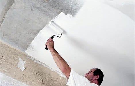 Красить потолок своими руками 30
