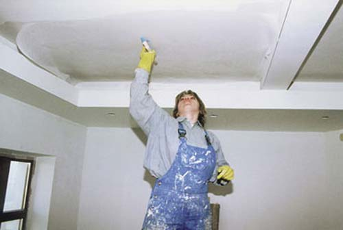 Ремонт потолков и стен своими руками 23
