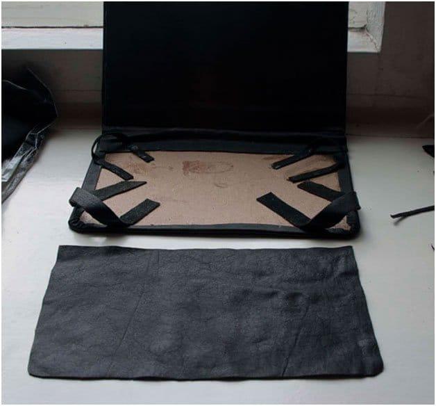 Как сделать чехол для планшета своими руками из джинсов