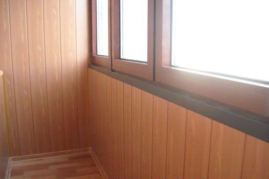 Как обшить балкон своими руками панелями мдф 218