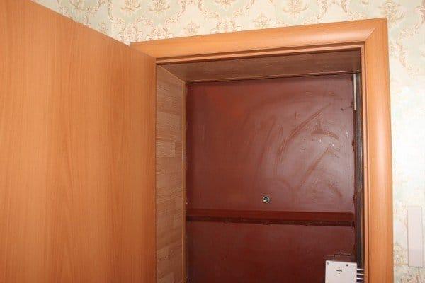 Отделка межкомнатных дверей ламинатом своими руками 53