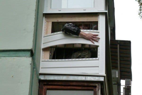 Как отделать балкон сайдингом своими руками снаружи 45