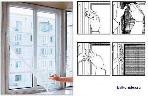 Сделать сетку на окно своими руками