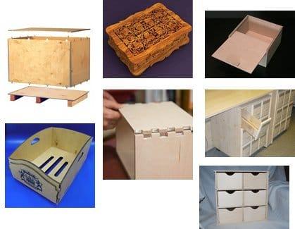 Как самому сделать ящики из дерева