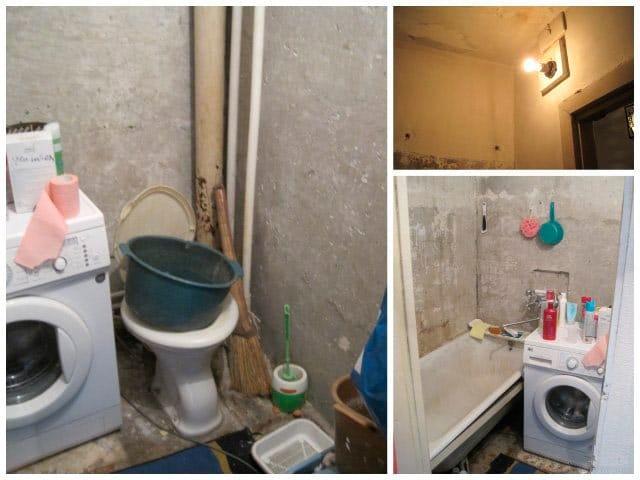 Ремонт ванной комнаты своими руками экономно