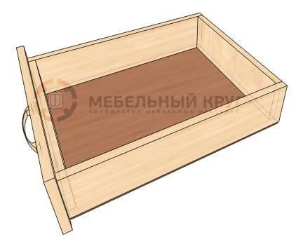 Как сделать с выдвижными ящиками тумбочку