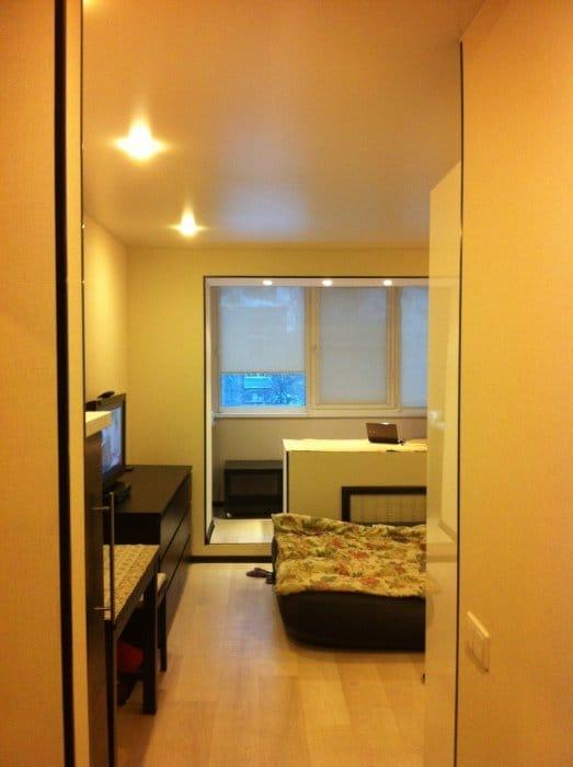 Квартира-студія 22 м2 з кгт в хрущовці: фотографії інтер'єру.
