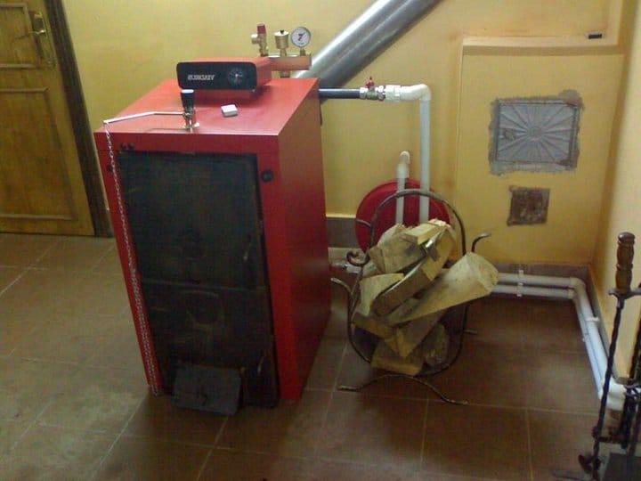 Котлы отопления комбинированные дрова электричество своими руками 104