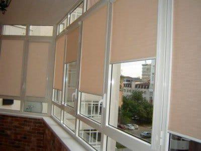 Жалюзи рулонные на пластиковые окна: крепление систем MINI, Uni