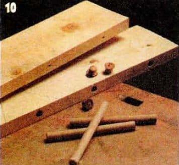 Изготовление клееного щита своими руками 19
