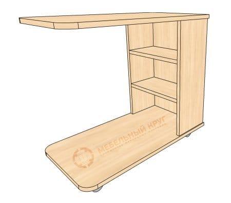 Приліжковий столик своїми руками   від деталювання до складання