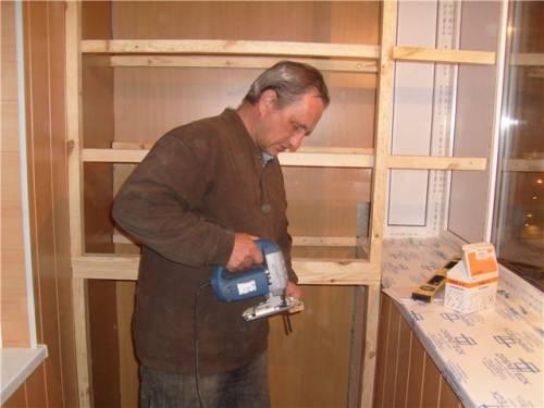 Шкаф для балкона своими руками пошаговая инструкция 4